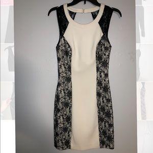 Guess White Lace Dress